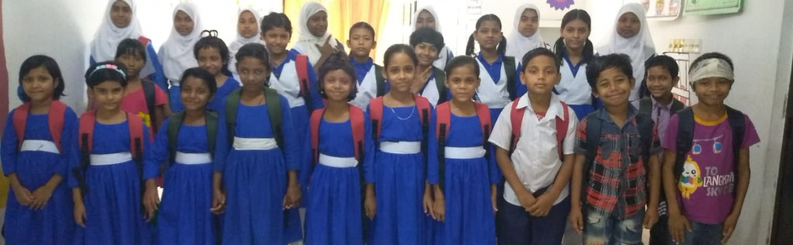 School Uniform, Bags and Stationery Distribution